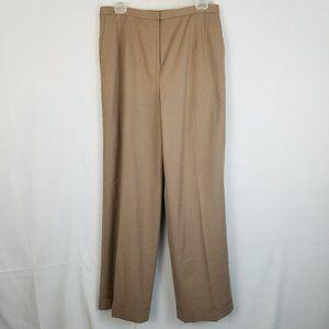 Talbots Wide Leg Wool High Rise Trouser Pants